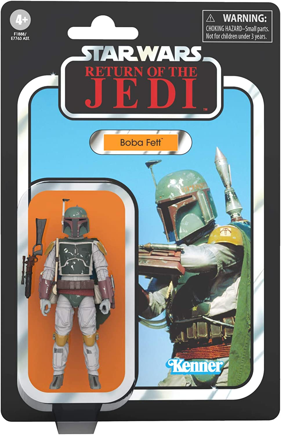 Star Wars The Empire Strikes Back Boba Fett 3.75 Inch The Vintage Collection