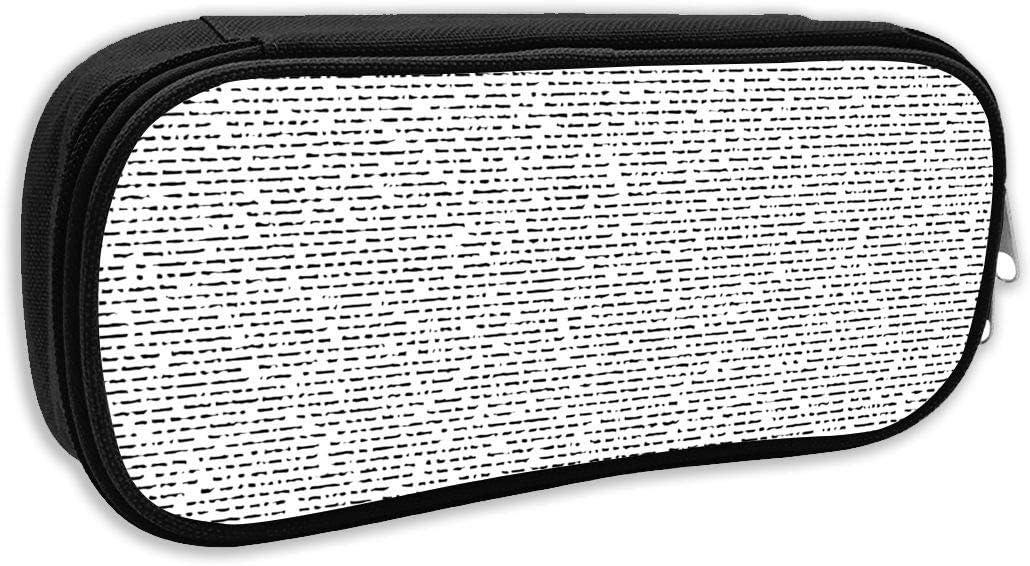 Estuche para lápices con texto en inglés
