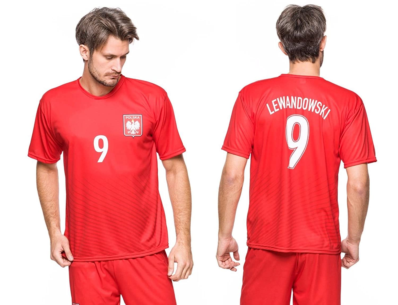 buy popular c690c c6d8b Sports Outlet Express Robert Lewandowski Polska Soccer ...