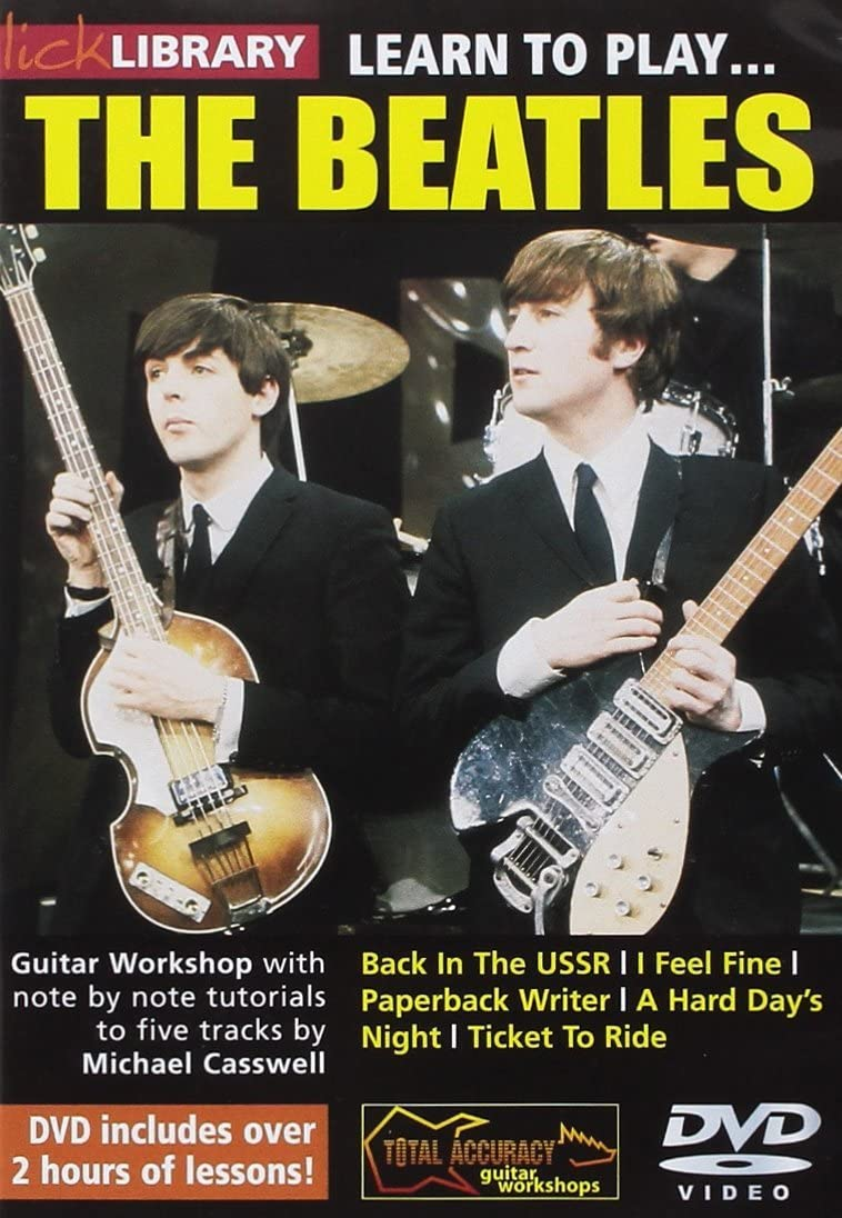 Lick Library: Learn To Play The Beatles. Para Guitarra: Amazon.es ...