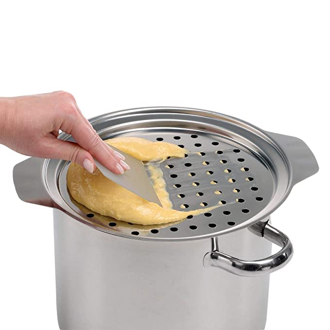 Amazon.com: Westmark Germany Spätzle Noodle Press Top with Scraper: Kitchen & Dining