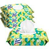 Lysol Handi-Pack Disinfecting Wipes, 320ct (4X80ct), Country Scent, cleaning wipes, antibacterial wipes, sanitizing…