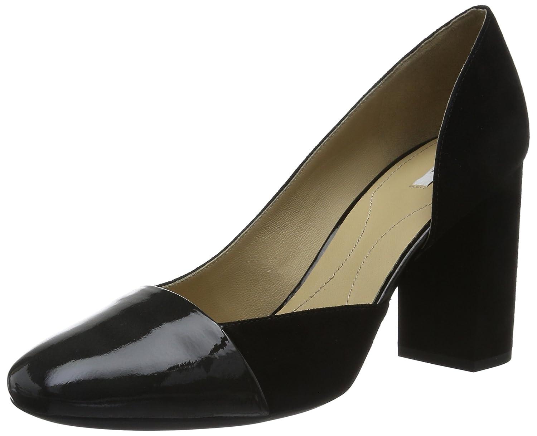 Geox D Audalies High C, Zapatos de Tacón para Mujer