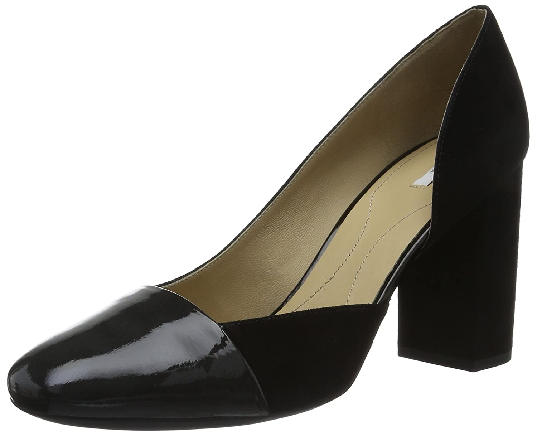 TALLA 37 EU. Geox D Audalies High C, Zapatos de Tacón para Mujer