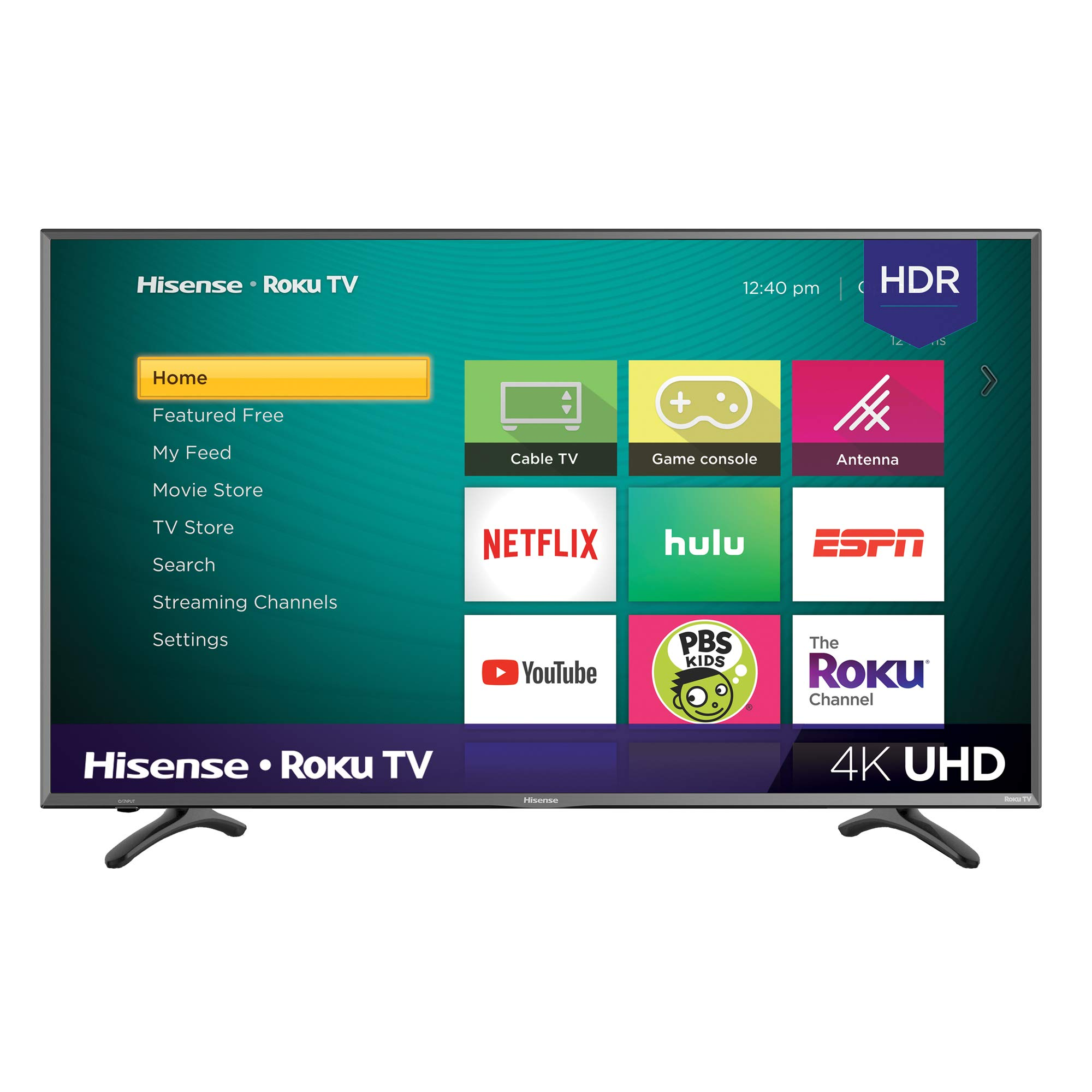 Hisense 50R7E 50-inch 4K Ultra HD Roku Smart LED TV HDR (2019) by Hisense