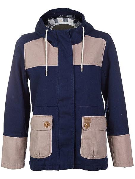 BILLABONG Victoria - Abrigo con manga larga para mujer, color peacoat, talla s