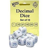 Decimal Dice (Set of 10) by Koplow Games
