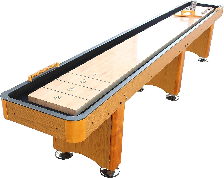 Playcraft Mesa Woodbridge para juego del tejo - SHWOHO14, Sin apoyo, 14-Feet, Honey Oak: Amazon.es: Deportes y aire libre