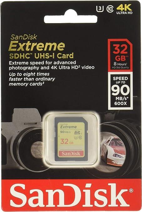 Sandisk Extreme 32gb Sdhc Bis Zu 40 Mb Computer Zubehör