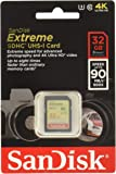 SanDisk Extreme Memory Card Up To 90MB/s Read