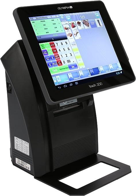 Olympia Touch200 - Caja registradora, color negro: Amazon.es: Oficina y papelería