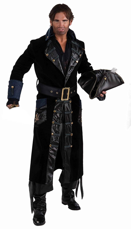 Men's Blackbeard the Pirate Costume - DeluxeAdultCostumes.com