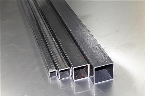 Tubo cuadrado de acero S235, 1,5 – 5 mm.: Amazon.es ...