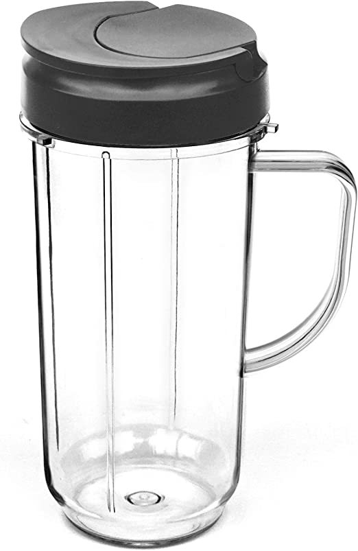 elefocus 22 oz vaso alto de taza con Flip Top – Tapa para Magic ...