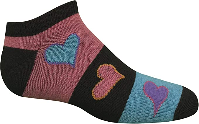 Fruit of the Loom girls Cushion Low Cut With Arch Support 6 Pack Sock Socks