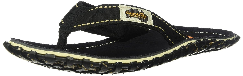 Gumbies Damen Zehentrenner - Rosa/Blau Schuhe in Uuml;bergrouml;szlig;en  42 EU|Black