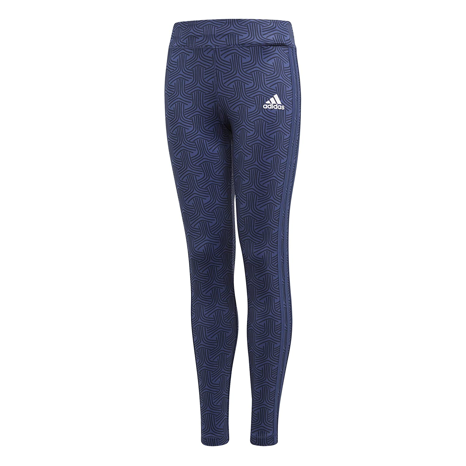 adidas Essentials Girls 'Gear Up 3 Stripes Tights, Girls, Gear Up 3-Streifen ADIEY|#adidas CF7174