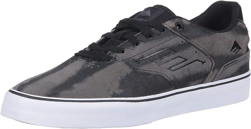 Emerica Reynolds Low Vulc Sneakers Damen Herren Unisex Grau/Schwarz