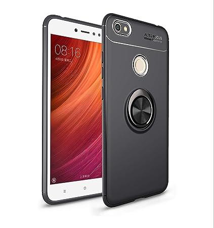 Ququcheng Funda Xiaomi Redmi Note 5A/Prime,Carcasa Xiaomi Redmi Note 5A/Prime Silicona Cover+Pantalla de Vidrio Templado Absorción para Xiaomi Redmi ...
