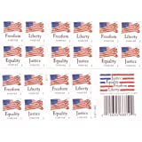 """USPS Forever Stamps """"Four Flags"""" Booklet of 20 Stamps"""