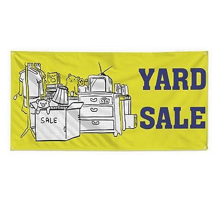 Yard Venta #1 - Cartel de malla de vinilo resistente al ...