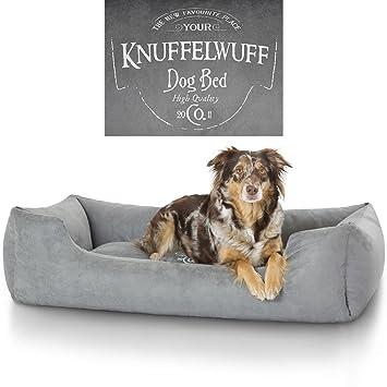 Knuffelwuff Cama para Perros Liam 13968 con Motivo Vintage: Amazon.es: Productos para mascotas