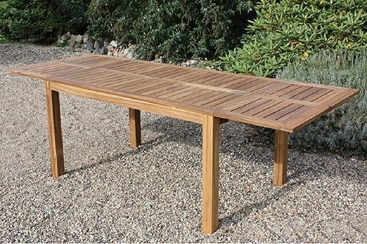 Dreams4Home Jardín Mesa Supra – Mesa, mesa de madera, mesa de ...