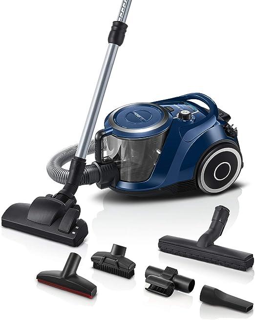 Bosch Hausgeräte Serie 6 Aspirador sin Bolsa, Color Azul: Amazon ...