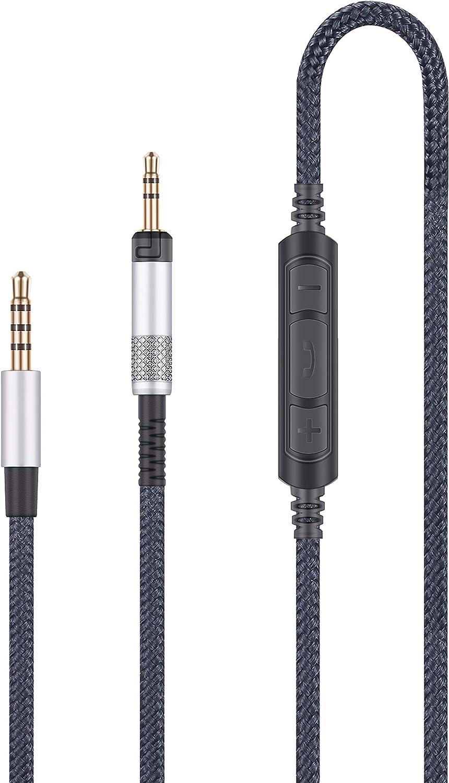 Cable de audio con micrófono,  ATH-M50x, ATH-M40x, ATH-M70x