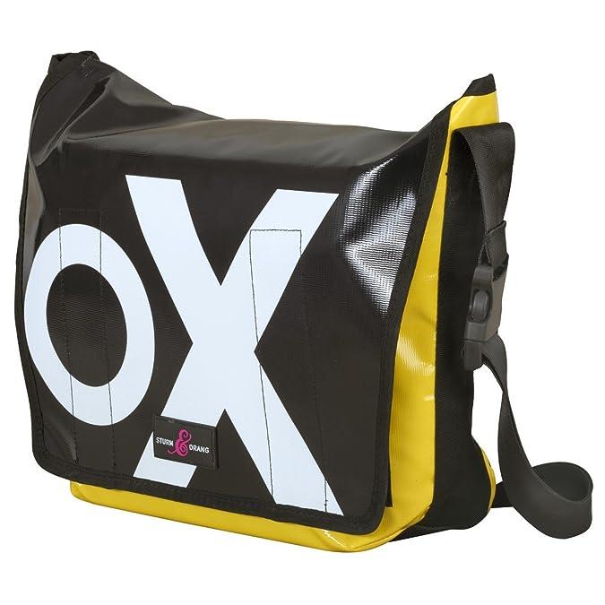 230276932997b Messenger Bag Large LKW-Plane Tasche Sturm   Drang Schultertasche   Amazon.de  Schuhe   Handtaschen
