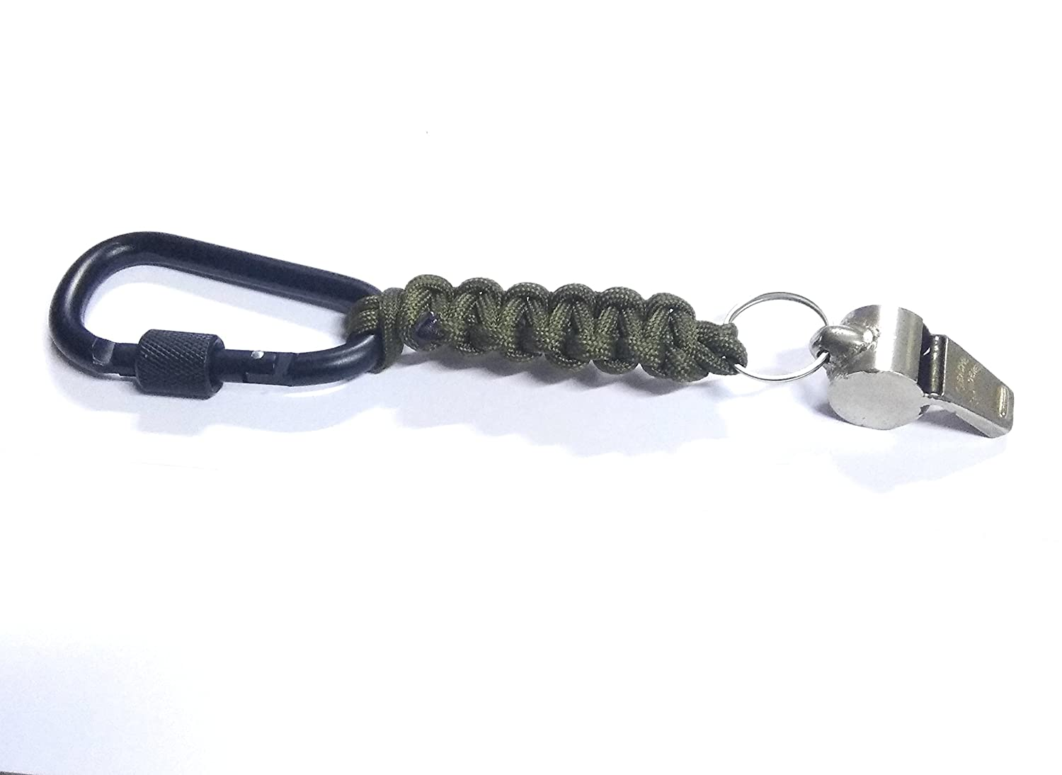 Thunderer Whistle All In One Lanyard For Outdoor Camping Hiking Paracord Add-gear Carabiner Football Add-venture India