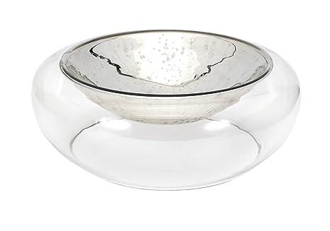 Amazon.com: IMAX Luxe – Cuenco de vidrio: Home & Kitchen