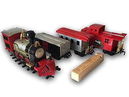 Amazon com: FAO Schwarz Classic Motorized Train Set, 30