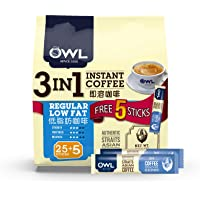 Owl 3In1 Regular Low Fat Coffee, 600 g (Pack of 30)
