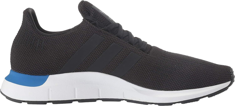 adidas Originals Men's Swift Running Shoe Black/Black/White