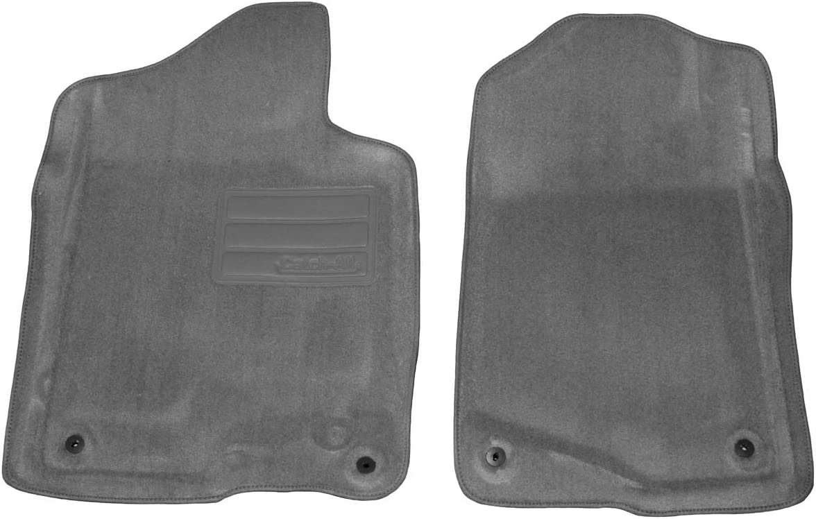 Lund 603030 Catch-All Carpet Gray Front Floor Mat Set of 2