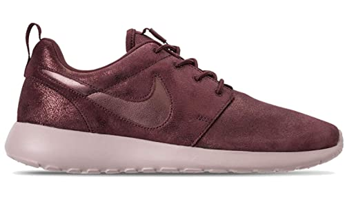 san francisco 572e2 d2340 ... reduced nike womens roshe one premium shoes 6 purple gold 0f63d 3a06c