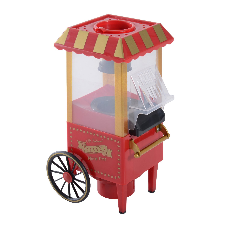 Palomitero Vintage Máquina de Palomitas de Maíz Portátil w xxCM Color Rojo