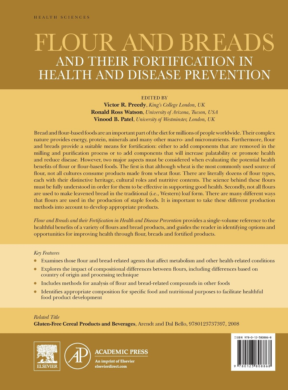 Buy Flour and Breads and their Fortification in Health and Disease  Prevention Book Online at Low Prices in India | Flour and Breads and their  Fortification ...