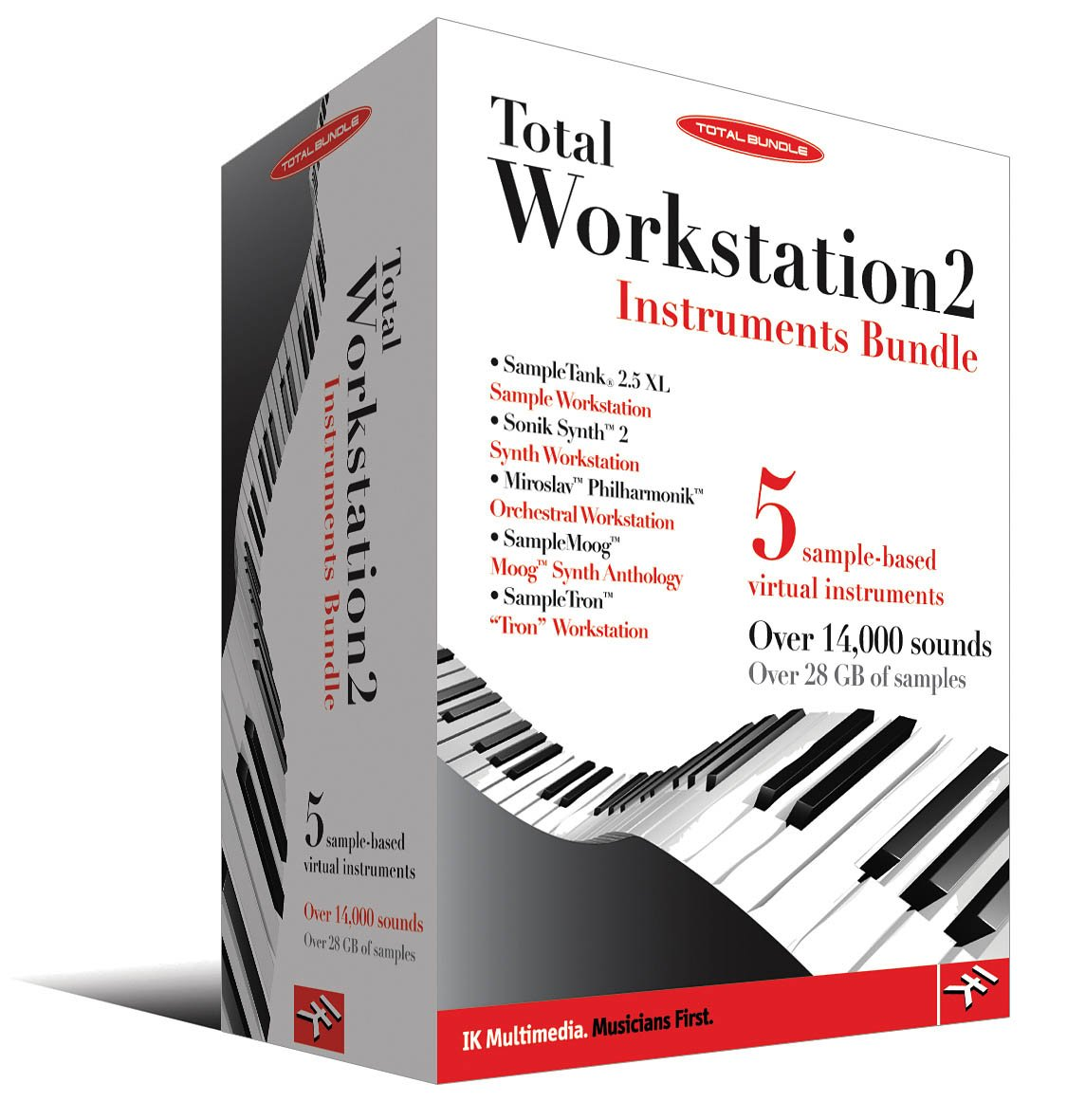 IK Mulitmedia Total Workstation 2-Instruments Bundle