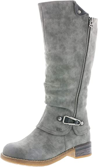 2017 Hochwertige Winterschuhe Frauen Kniehohe Stiefel