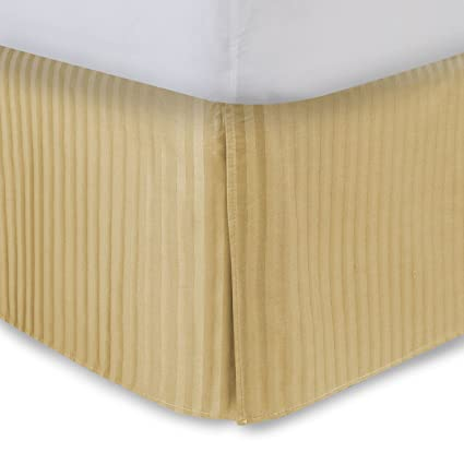 Amazoncom Harmony Lane Tailored Bedskirt With 18 Drop Queen Size
