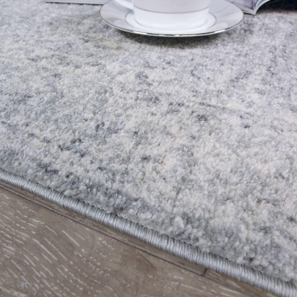 The Rug Rug Rug House Halcyon Traditioneller Vintage-Teppich mit Einem klassischen persischen Design für Das Wohnzimmer oder Schlafzimmer in Grautönen 160cm x 230cm 1292e1