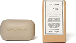product image for Caswell-Massey LX48 Oversized Saddle Castile Soap Bar – Natural Bath Soap With A Masculine Cedarwood Fragrance – 8 Oz