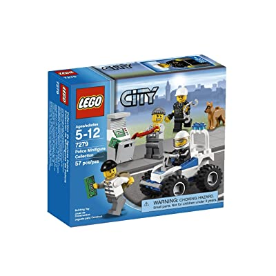 LEGO Police Minifigure Collection 7279: Toys & Games