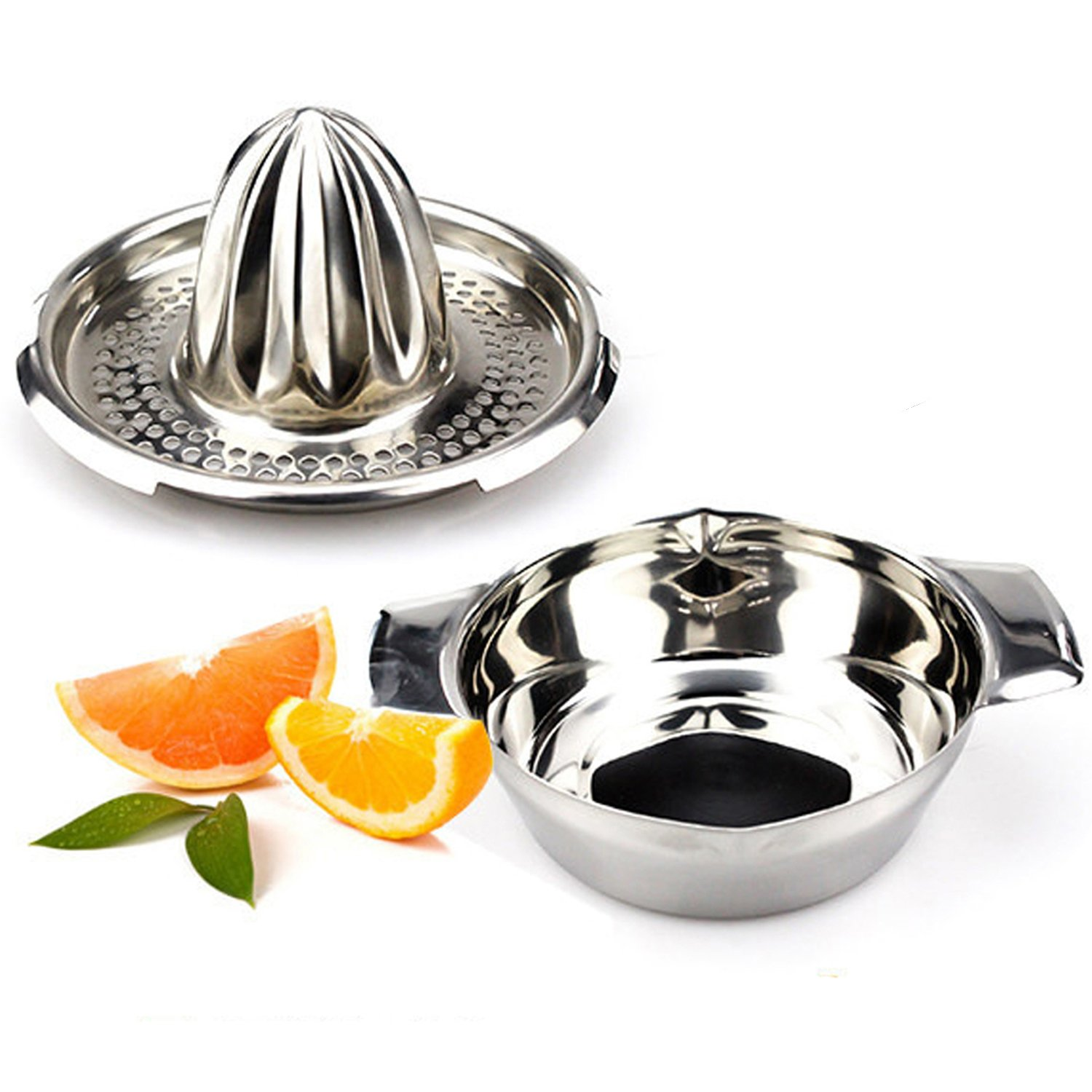 Brand New Citrus/ Orange Stainless Steel Juicer Lemon Lime Fruit Hand Squeezer Kitchen Tool The Best Kingdom