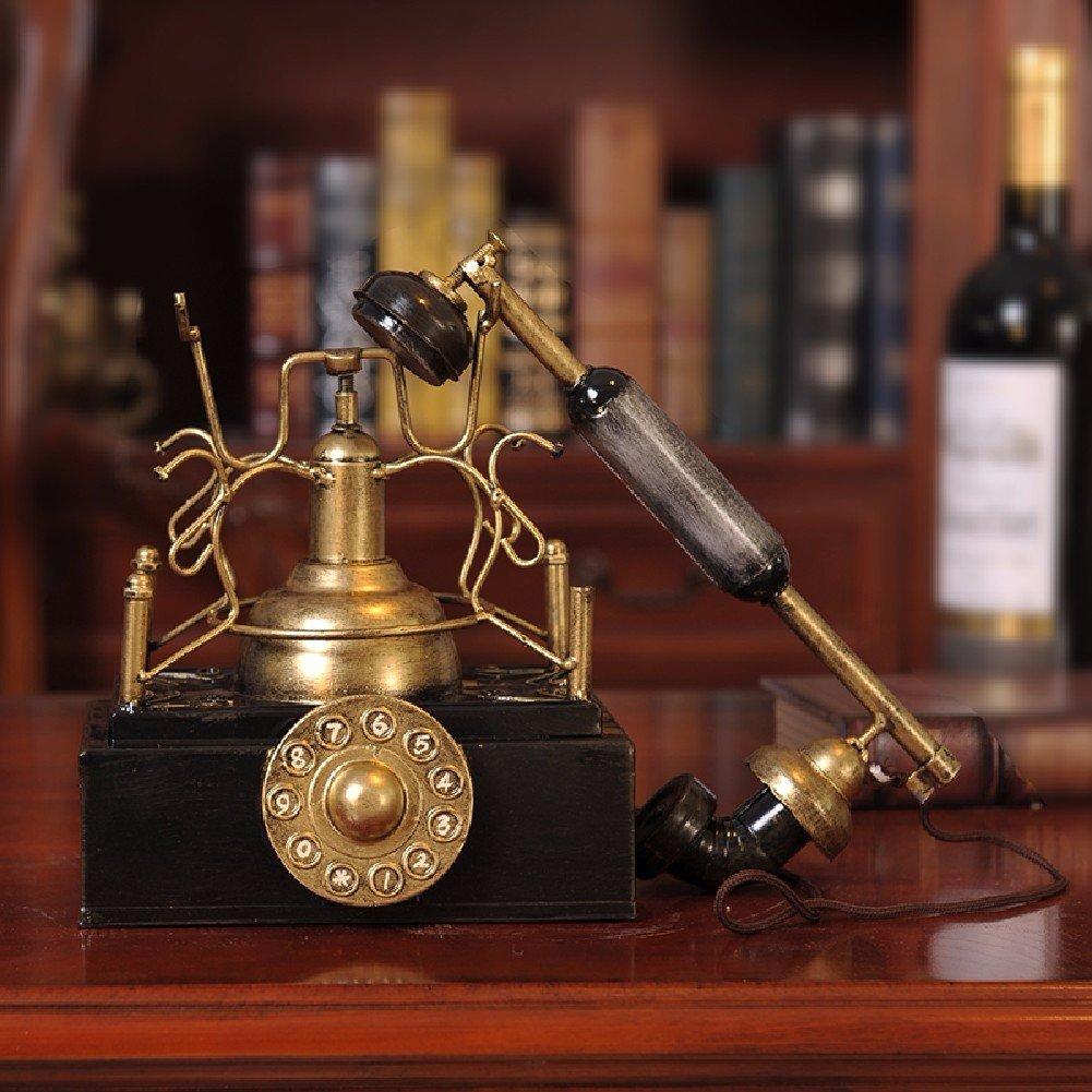 ZPSPZ Decorazione casa Soggiorno Americano Vintage – Telefono.