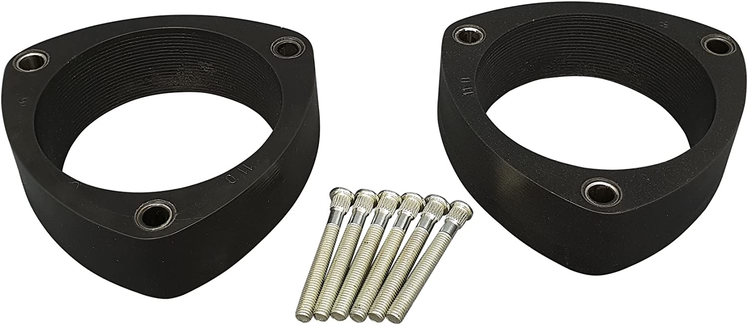 4wd ~ all models and engines 3.5 V6 Truxxx 105045-3 lift kit compatible with all 2009-2019 Ford F-150 4x4 5.0 /& 5.4 V8 and 2.7 /& 3.5 Eco Boost /& 2019 Power Stroke Diesel