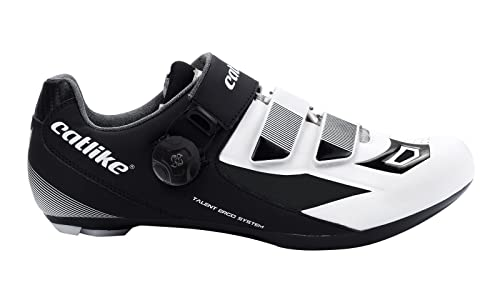 Catlike Talent Road 2016, Zapatillas de Ciclismo de Carretera Unisex Adulto, Negro (Black/White), 42 EU: Amazon.es: Zapatos y complementos
