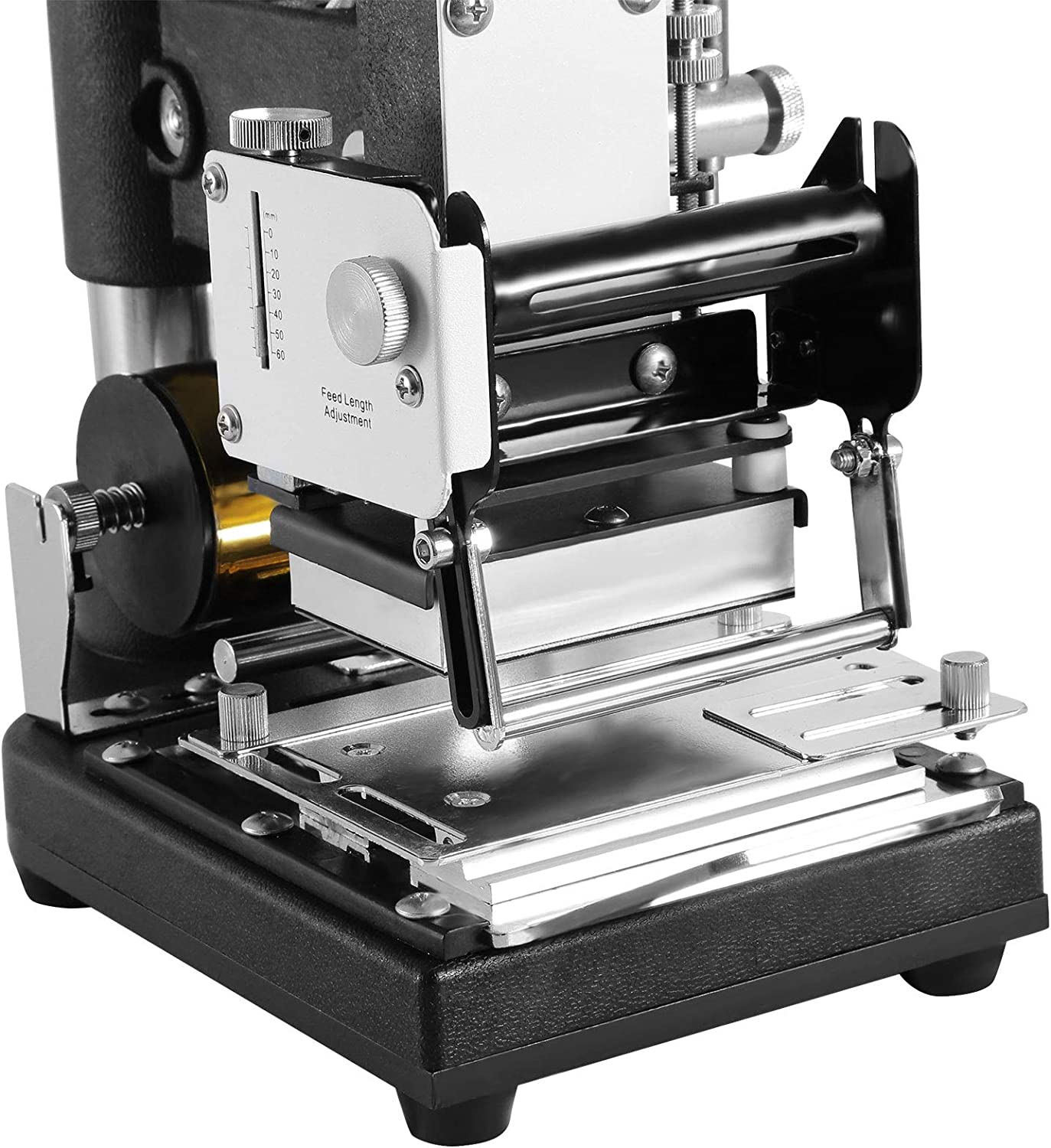 300W FORAVER 300W Hot Foil Stamping Machine Manual Tipper Stamper Bronzing for PVC ID Credit Card with a Free Foil Paper